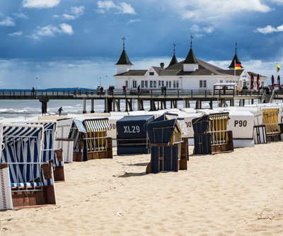 Baltic see town Ahlbeck  | © photo: Shutterstock
