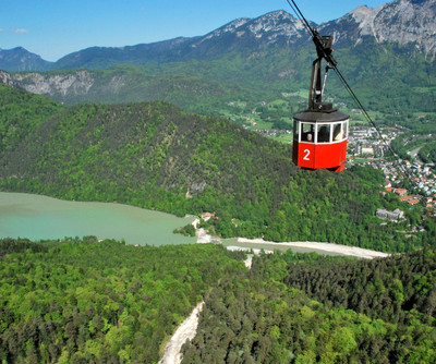 Predigtstuhl Cable Car in Bad Reichenhall | © Photo: Shuttertsock