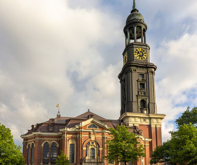 Hansedtadt Hamburg church