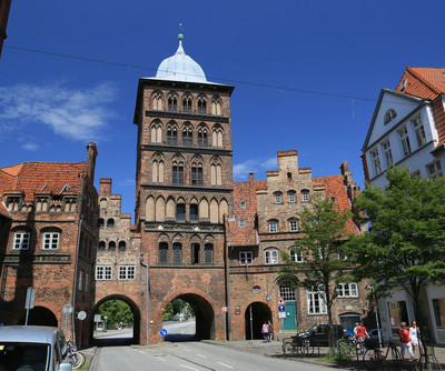 Castle gate Luebeck sightseeing tipp