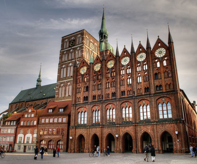 Reise Tipp Altes Rathaus Stralsund Old Town Hall Sightseeing