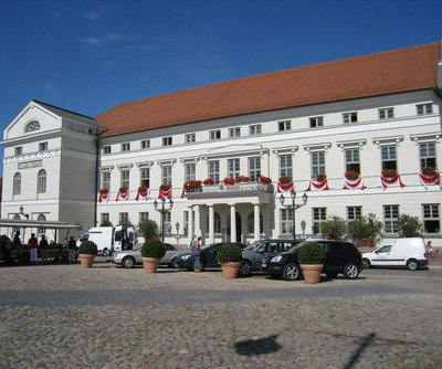 Townhall of the hanseatic town Wismar
