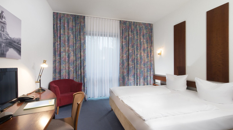 Double Room Days Inn Hotel Leipzig Messe
