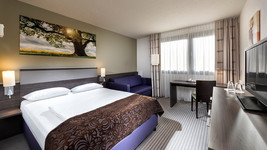 Mercure Hotel Duesseldorf Airport single room