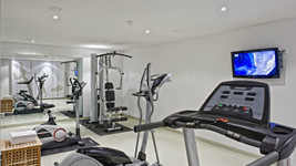 Fitness area Tryp by Wyndham Frankfurt