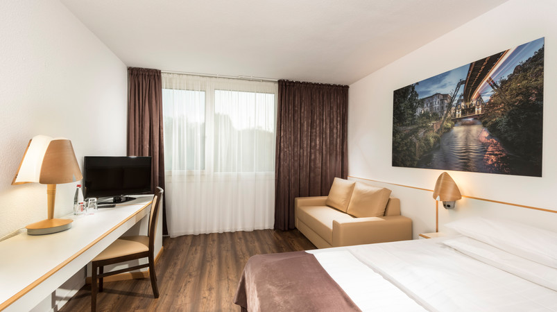 Tryp by Wyndham Wuppertal Doppelzimmer